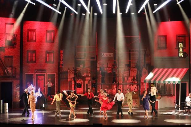 Plesna uspešnica v bleščečem soju Broadwaya (foto: Cankarjev dom Press)