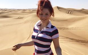 Tanja Žagar je raziskovala Dubaj