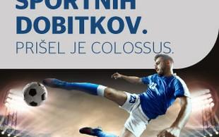 Športna loterija je prva loterija s ponudbo športnih napovedi Colossus