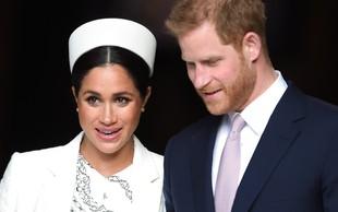Meghan Markle in princ Harry sta želela zapustiti kraljico Elizabeto, a jima to ni uspelo
