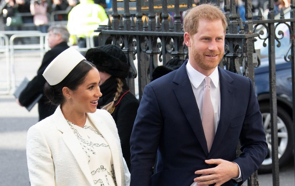 Meghan Markle in princ William komaj čakata, da se jima rodi prvi otrok. (foto: Profimedia Profimedia, Splash - Aktivní)