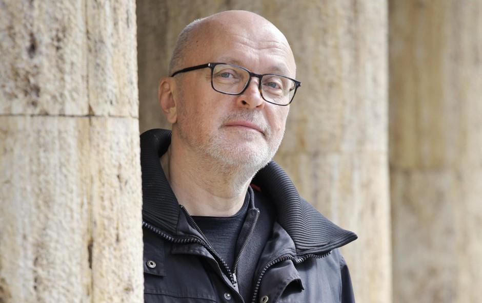 """Miha Mazzini (avtor in režiser Izbrisane): Tudi """"oni drugi"""" so samo ljudje (foto: Aleksandra Saša Prelesnik)"""