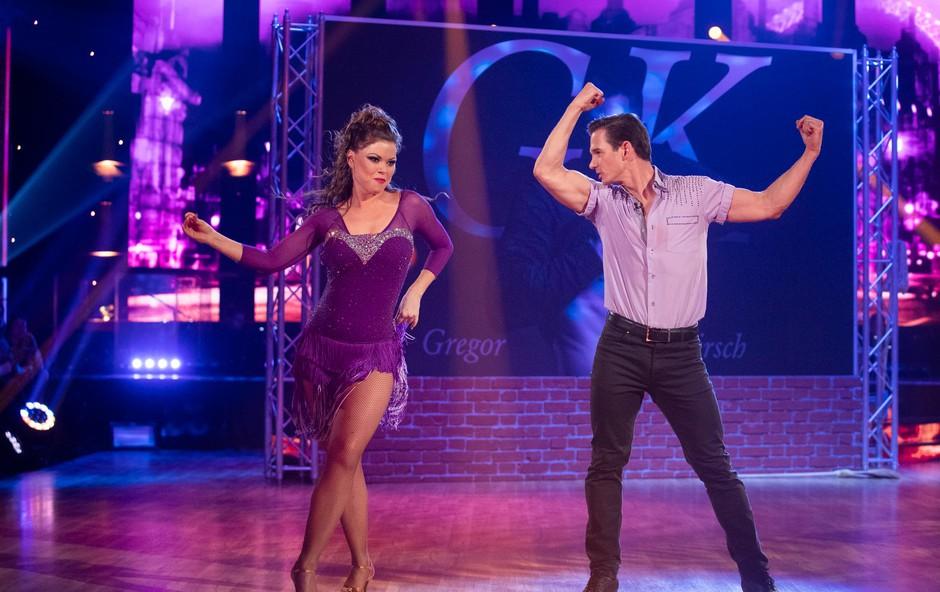 Šov Zvezde plešejo prva zapuščata Gregor P. Kirsch in Martina Plohl (foto: Miro Majcen)