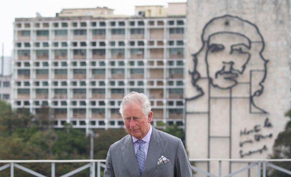 Princ Charles in Camilla na zgodovinskem obisku na Kubi (foto: profimedia)