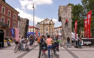 3. Triglav The Rock Ljubljana z Janjo Garnbret, Jernejem Krudrom in lovci na olimpijske kolajne