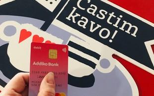 Addiko banka predstavlja prvo dišečo debetno kartico Mastercard® v Sloveniji