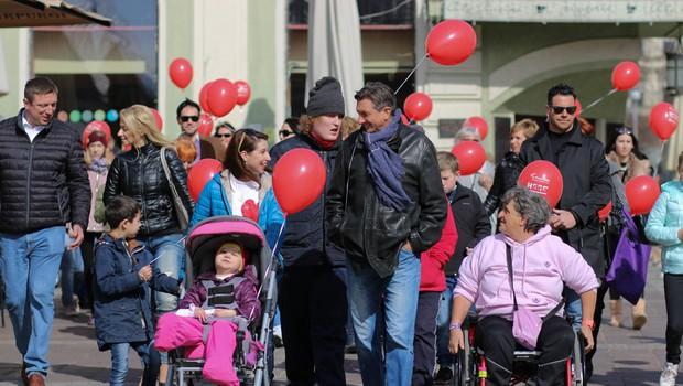 Pohod je podprl tudi predsednik republike Slovenije Borut Pahor. (foto: Mediaspeed)