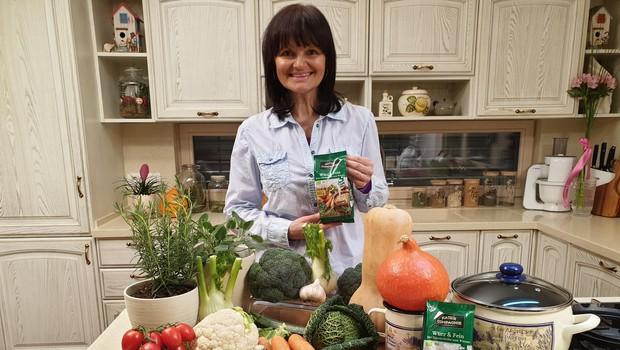 Nataša je po zdravi pici in sladici tokrat pripravila zelenjavno juho za razstrupljanje. (foto: Osebni Arhiv)