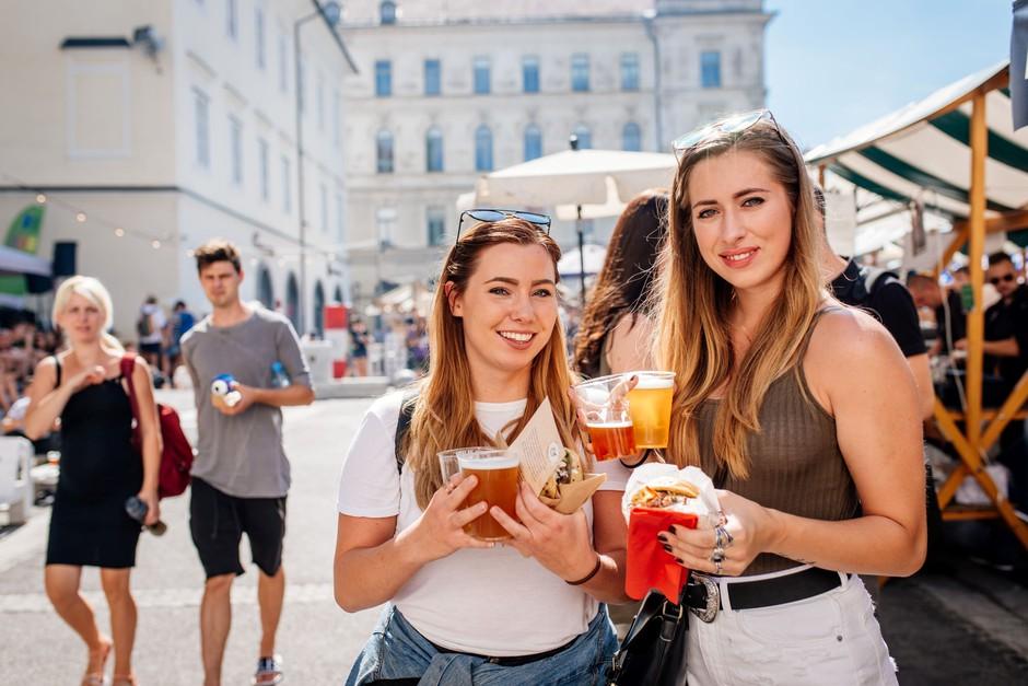 Pivo & Burger Fest prinaša sveže okuse in trende (foto: Odprta kuha/ Pivo & Burger Fest Press)