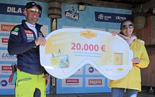 1001 CVET mladim smučarskim upom predal 20.000 evrov