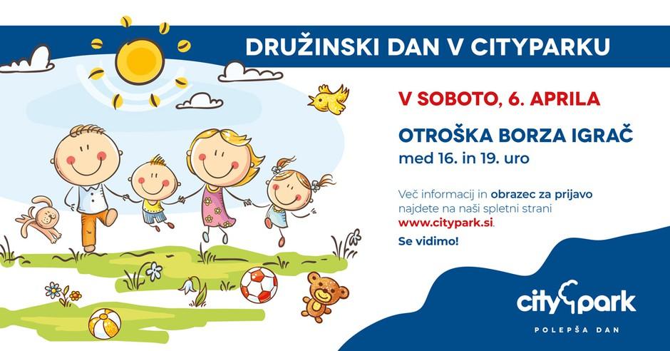 Pridite na otroško borzo igrač v Citypark: prodajte, zamenjajte ali podarite (foto: Citypark Press)