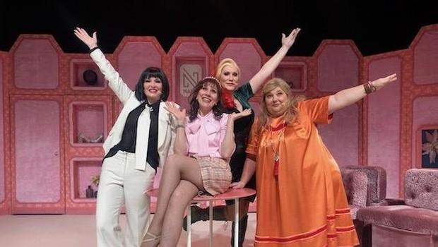 Damjana je bila z ekipo na odru prvič 20. marca. (foto: Špas Teater)