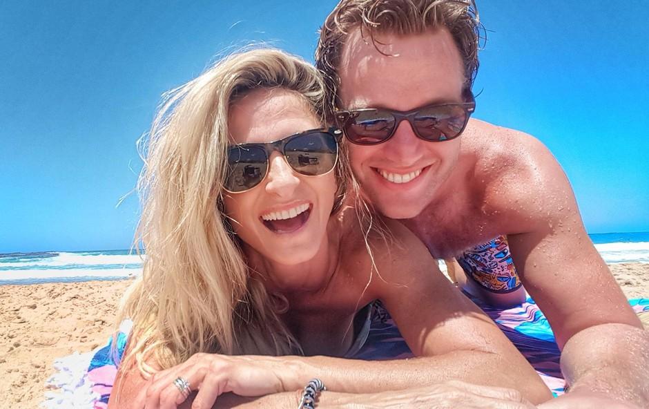Gordana in Trent sta deset dni uživala v Avstraliji. (foto: Osebni Arhiv)