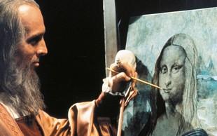 Leonardo da Vinci je ustvarjal z obema rokama