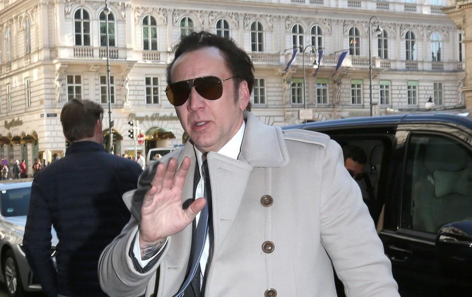 Nicolas ne mara, da ga fotografirajo. (foto: Profimedia Profimedia, Temp Sipa Press)