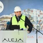 Toni Pugelj, direktor novega nakupovalnega središča (foto: Aleja Press)