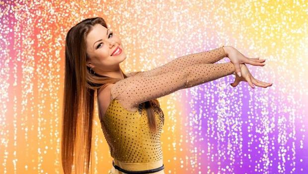 Martina je že tretje leto zapored sodelovala v šovu Zvezde plešejo. (foto: Pop Tv)
