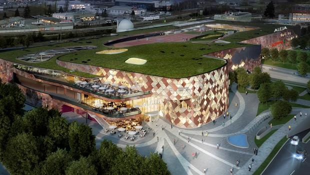 Najsodobnejše nakupovalno središče v Sloveniji se bo imenovalo Aleja (foto: Aleja Press)