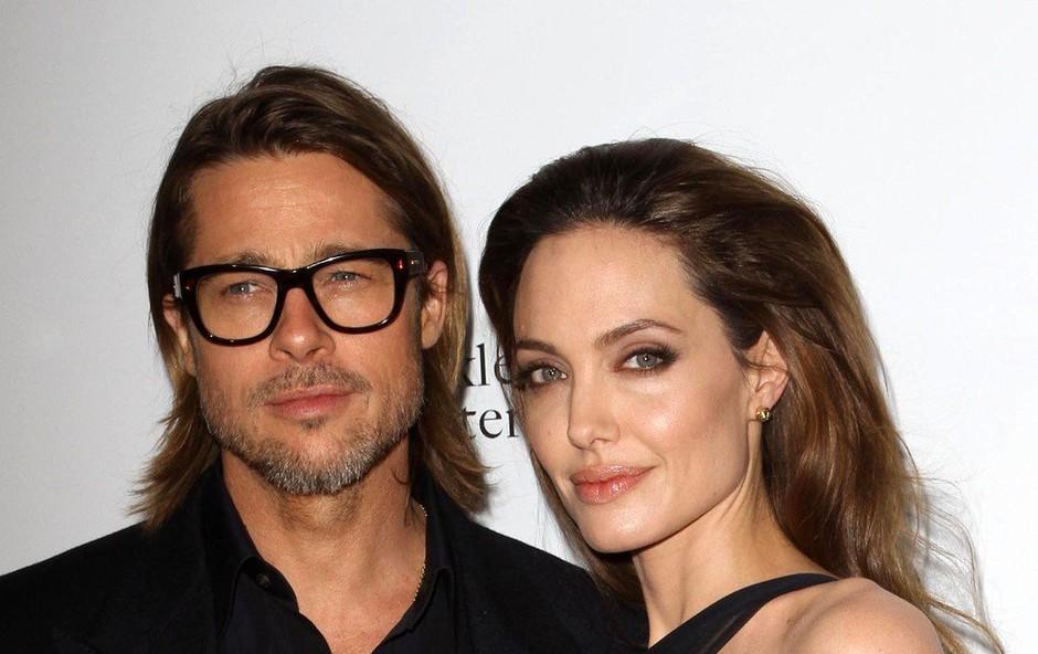 Angelina naj bi na vso moč nagajala Bradu Pittu (foto: Profimedia)