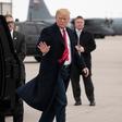 Ameriški predsednik Trump iz Velike Britanije dopotoval na Irsko