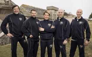 Družine v Fittest Family bo treniral tudi akrobatski dvojec Filip in Blaž