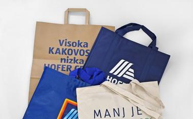 HOFER junija ukinja plastične vrečke