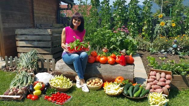 Nataša bo letos z bralci spet delila nasvete za uspešno vrtnarjenje. (foto: Osebni Arhiv)
