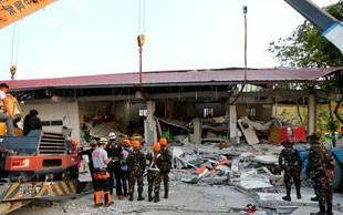 Močnejši potres stresel Filipine, o žrtvah ne poročajo
