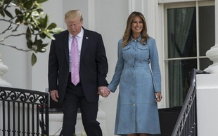 Poglejte, katera zvezdnica je nosila obleko, ki se ji ni mogla upreti niti Melania Trump
