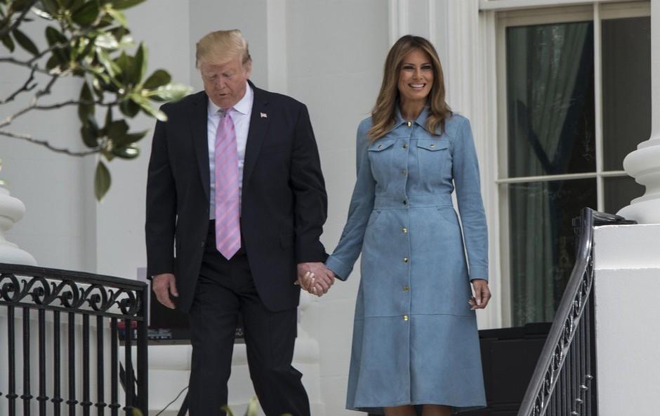 Poglejte, katera zvezdnica je nosila obleko, ki se ji ni mogla upreti niti Melania Trump (foto: Profimedia)