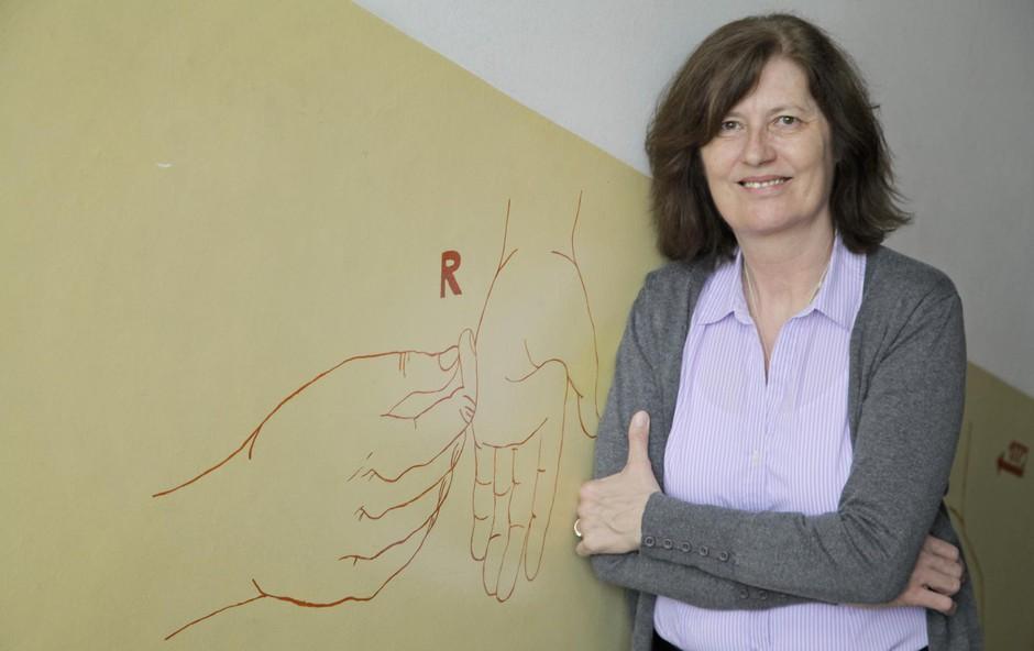 Marjetka Kulovec: Prva gluha doktorica v Sloveniji (foto: Aleksandra Saša Prelesnik)