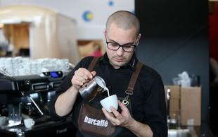 Barcaffè Barista Cup – prvo regionalno tekmovanje v latte artu