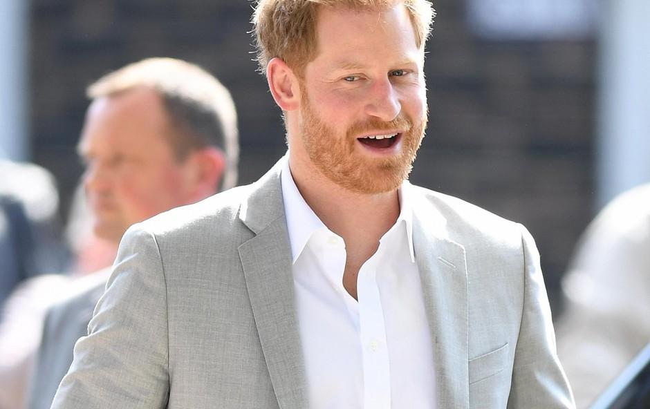 Ni še znano, ali se bo Harry pojavil tudi pred kamero ali pa bo samo v ozadju. (foto: Profimedia Profimedia, Mega Agency)