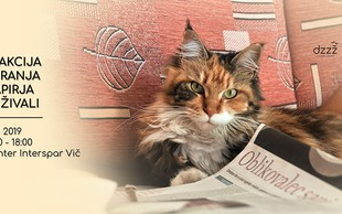 Zbirajmo papir in pomagajmo živalim: V soboto, 1. junija!