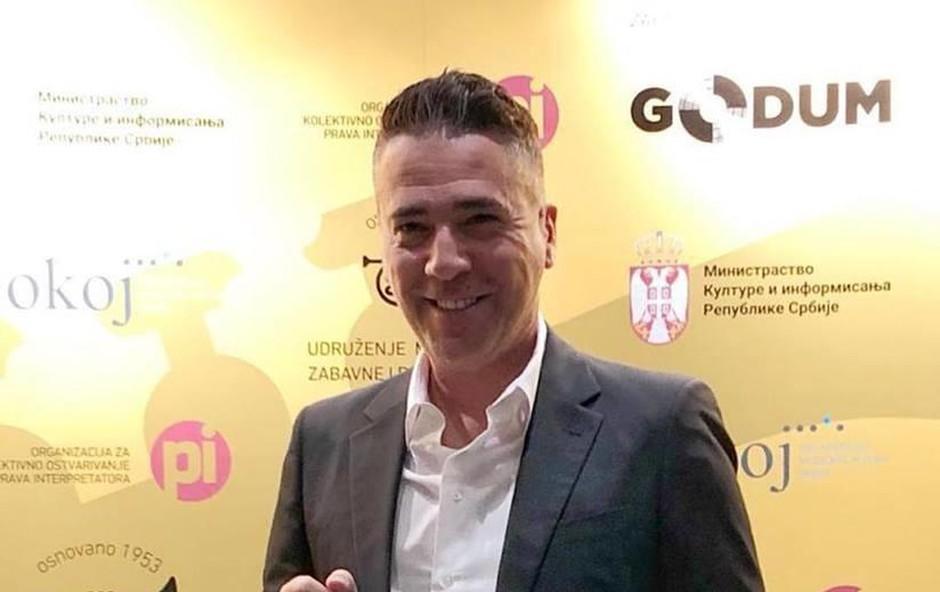 Željko Joksimović je prejel še eno nagrado, ki mu zelo veliko pomeni. (foto: Dallas Records)