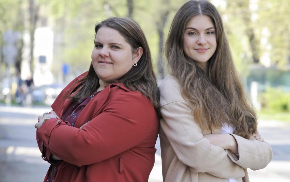 Anja Fortuna in Lucija Karnelutti (foto: Aleksandra Saša Prelesnik)