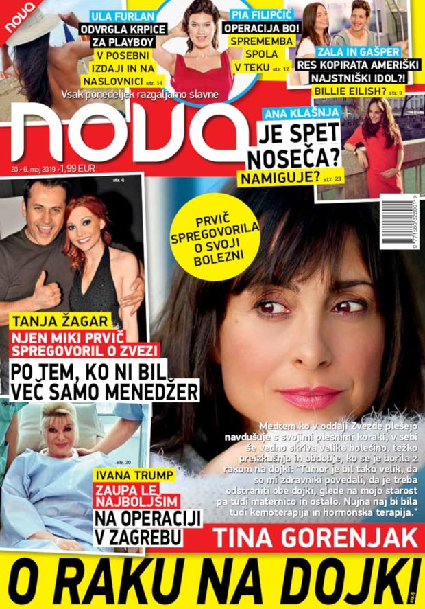 Tina Gorenjak prvič spregovorila o težki bolezni (foto: Nova)