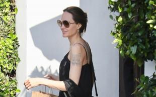 Angelina Jolie: Večno elegantna v črnem