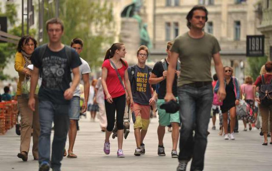 Univerze ob začetku novega študijskega leta pripravljajo dobrodošlice za študente (foto: STA/Tamino Petelinšek)