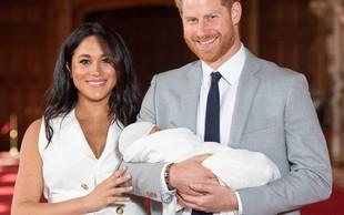 Princ Harry in Meghan Markle: Sinu sta dala ime Archie