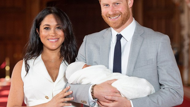 Princ Harry in Meghan Markle: Sinu sta dala ime Archie (foto: Profimedia)