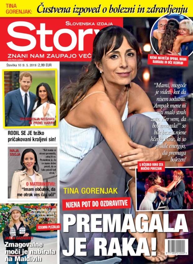 Tina Gorenjak: Premagala je raka! (foto: story)