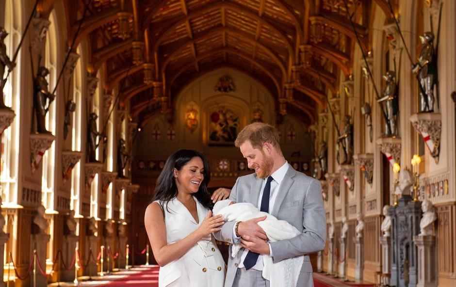 Na dan prišle nove ljubke fotografije princa Archieja (foto: Profimedia)