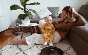 """Blogerka Alja Perne: """"Kljub dojenčku so tla vsak dan povsem čista"""""""
