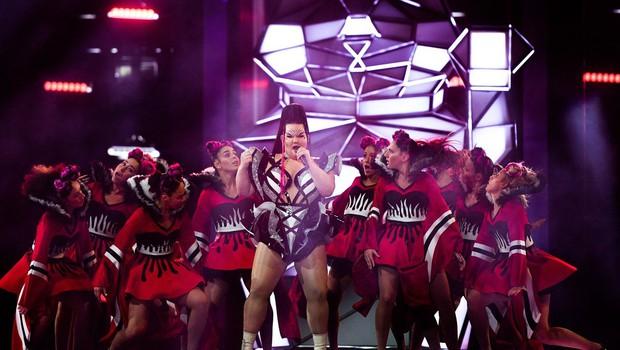 20.000 policistov zagotavlja varnost tekmovanja za pesem Evrovizije (foto: profimedia)