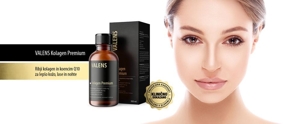 Valens Kolagen Premium - za sijočo kožo, lase in nohte (foto: Valens Press)
