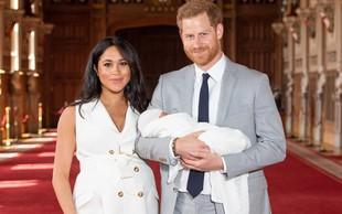 Srečna starša: Princ Harry in vojvodinja Meghan