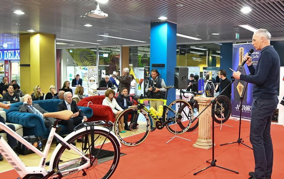Nova kolesarska preizkušnja 38. Maratona Franja BTC City že pred vrati (foto: BTC City Press)