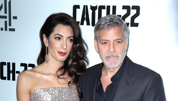 Govorice o Clooneyjevi petletni hčerki naj bi skalile mir njegovi Amal (foto: Profimedia)