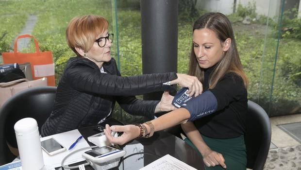 Preverite svoj krvni tlak, da boste poznali svoje številke (foto: Press)